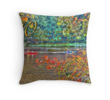 Sept_faith with actions Throw Pillow