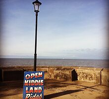 Kiddie Land is Open by Richard Crutchley