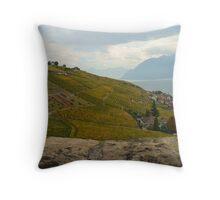 The Vineyards Throw Pillow