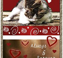 Kittens Valentine by Terri Chandler