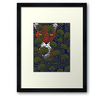 Invisible Fox Framed Print