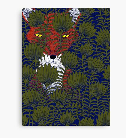 Invisible Fox Canvas Print