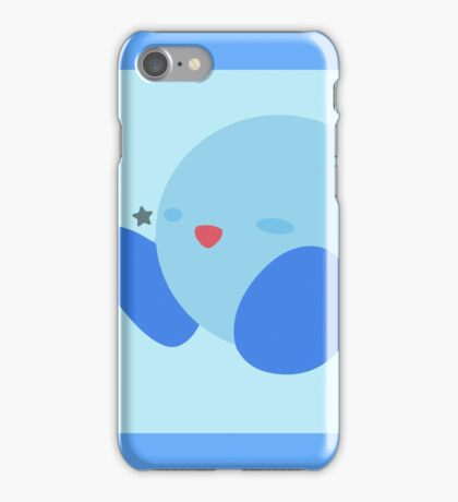 Kirby (Blue) - Super Smash Bros. iPhone Case/Skin