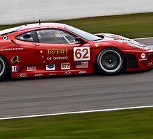 Red Ferrari F430GT Risi ALMS Mosport Corner 3 by LongbowX