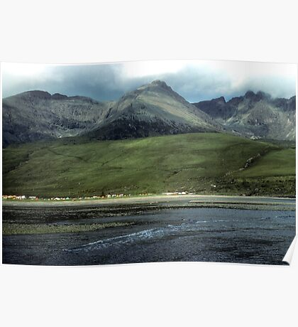 Camping under the Cuillins Poster