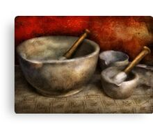 Pharmacist - Pestle and son  Canvas Print