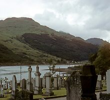 Graveyard with a view by nealbarnett