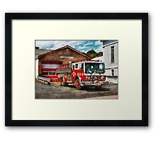Fireman - Union Fire Company 1  Framed Print