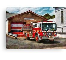 Fireman - Union Fire Company 1  Canvas Print