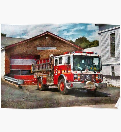 Fireman - Union Fire Company 1  Poster