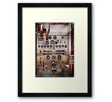 Fireman - For guys only  Framed Print