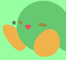 Kirby (Green) - Super Smash Bros. by samaran