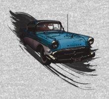 Car Retro Vintage Design One Piece - Short Sleeve