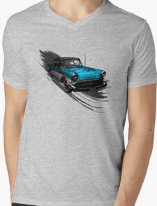 Car Retro Vintage Design Mens V-Neck T-Shirt