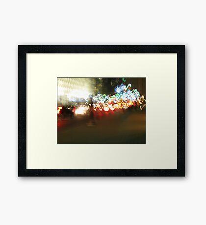 Marching Forward Framed Print