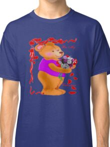 Bear with a Bouquet tee Classic T-Shirt