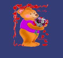 Bear with a Bouquet tee Unisex T-Shirt