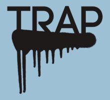 Trap typography Kids Tee