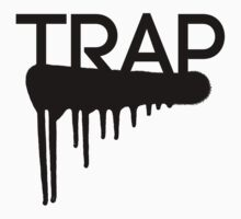 Trap typography One Piece - Short Sleeve