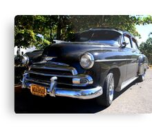 Black Cuban Cruiser Metal Print