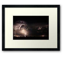 Ten Seconds Framed Print