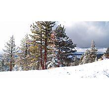 Tahoe Rim Photographic Print