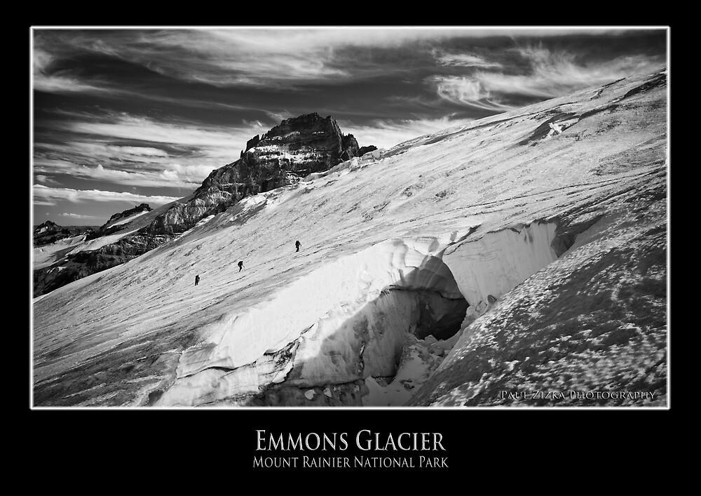 Emmons Glacier, Mount Rainier National Park by mountainpz