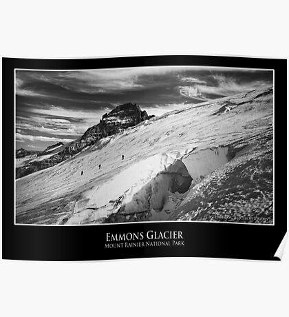 Emmons Glacier, Mount Rainier National Park Poster