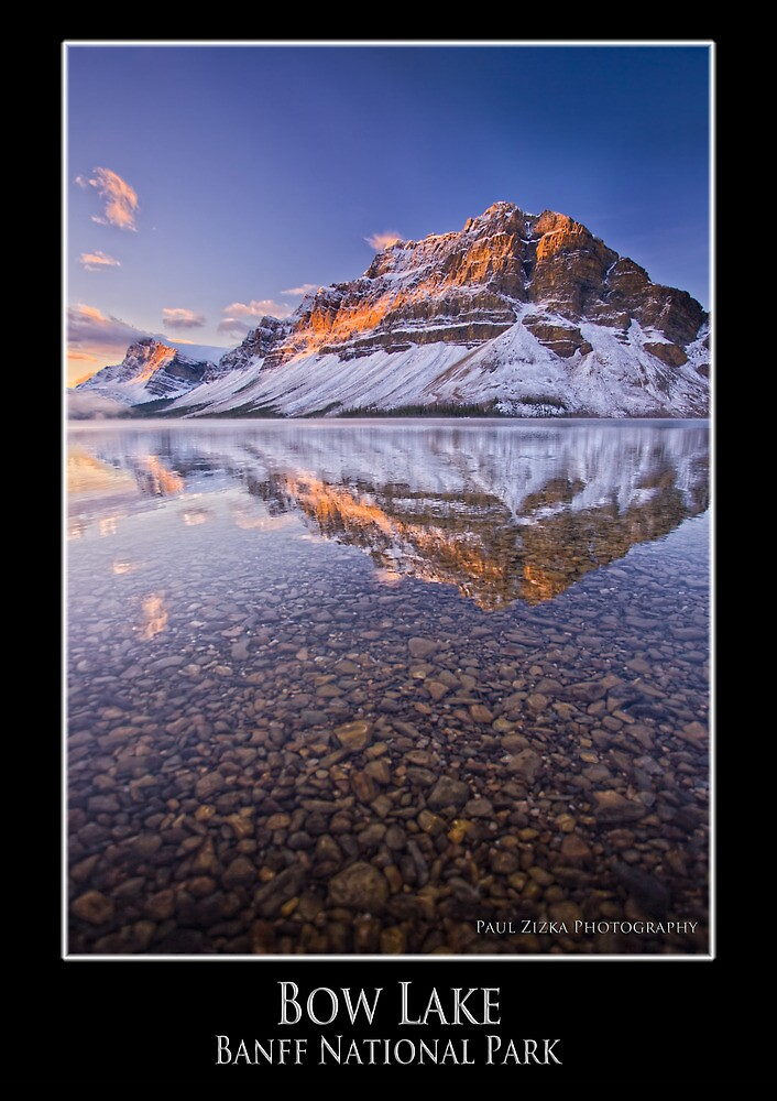 Bow Lake, Banff National Park by mountainpz