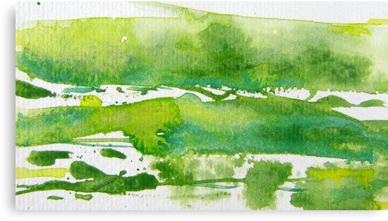 Green Meadows I by Kathie Nichols