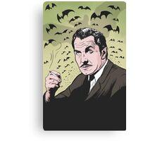 """Vincent Price """"The Bat"""" Illustration! Canvas Print"""