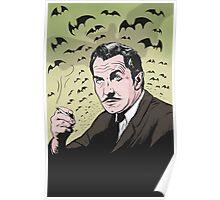 """Vincent Price """"The Bat"""" Illustration! Poster"""