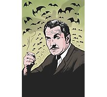 "Vincent Price ""The Bat"" Illustration! Photographic Print"