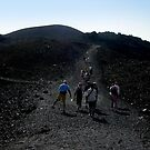 Walk on the volcano by bubblehex08