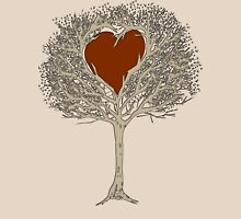The tree of love Womens Fitted T-Shirt