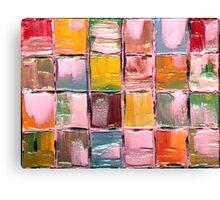 Little Blocks of Life Canvas Print