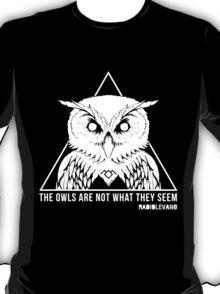 RADIOLEVANO - Twin Peaks - Owl T-Shirt