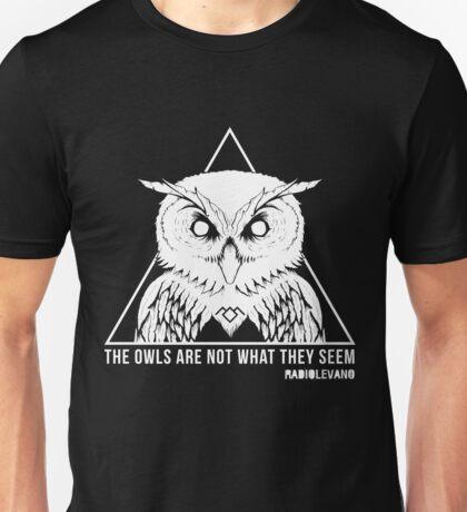 RADIOLEVANO - Twin Peaks - Owl Unisex T-Shirt