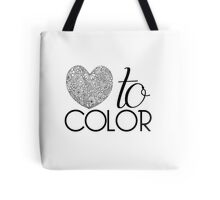 Love to Color Tote Bag