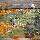Green-Orange fields by BasantSoni
