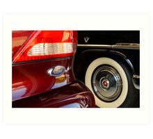 Two Fords Art Print