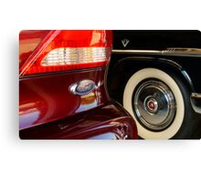 Two Fords Canvas Print