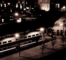 Downtown Train by Shannon Smith