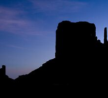 Mitten and Butte by Mitchell Tillison