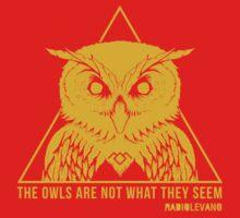 RADIOLEVANO - Twin Peaks - Owl by nemwiper