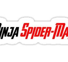 Is That...Ninja Spider-Man? Sticker