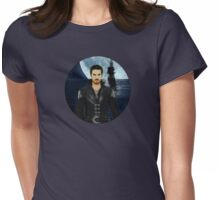 "Captain Hook Comic Poster ""Moonlight"" Logoless Design Womens Fitted T-Shirt"