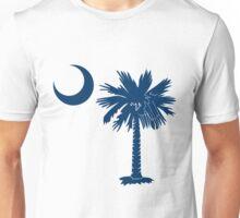 Blue Palmetto Moon Unisex T-Shirt