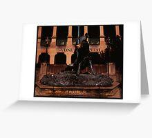 Il Porcellino Greeting Card