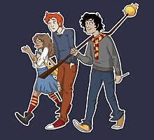 The Golden Trio by Stepjump